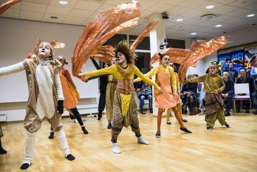 Kulturprisen gikk til Art Musikal og Ballettskole på Røa. Foto: Klaudia Lech