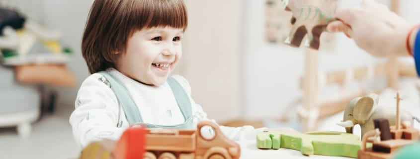 little girl having fun with toys 3661283